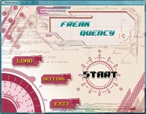Freak-quency startup screen